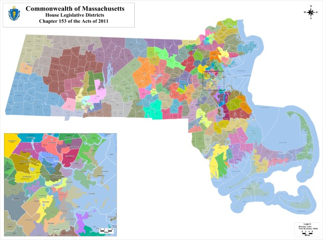 MA House Districts